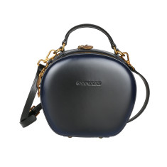 Leather handbag cross-body Bag