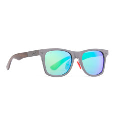 Challis gunmetal sky polarised sunglasses