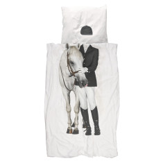 Snurk quilt cover set horse