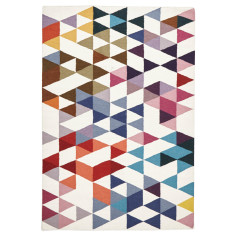Wanderlust Multicoloured Flatweave Wool Rug