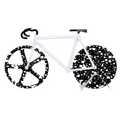 DOIY the fixie patterned pizza cutter