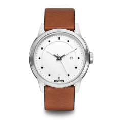 Hypergrand maverick 3hd leather silver white w classic honey