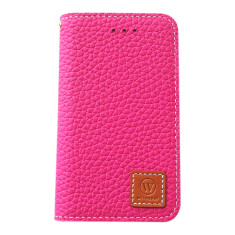 Premium leather iPhone 4/4S case in pink