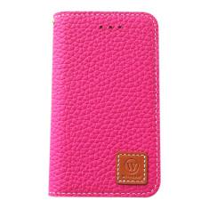 Premium leather iPhone 4/4S case in pink
