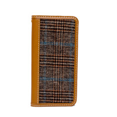 Tweed case in herringbone pattern for iPhone 6 or 6 plus