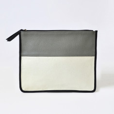 Small leather clutch (various colours)