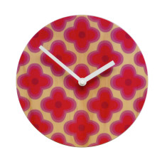 Objectify Pretty Flower Wall Clock