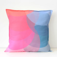 Circle fun cushion cover