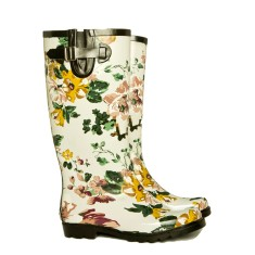 Princess bird tall rubber wellies