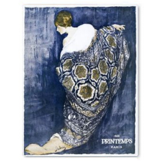 Vintage style printemps ready to hang canvas