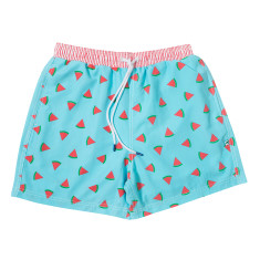 Summer Sangria Watermelon men's swim shorts
