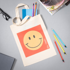 Smiley Face (Est. 1960's) Magazine Bag