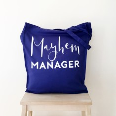 Mayhem manager tote bag