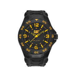 CAT Motion series watch in black & yellow
