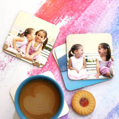 Personalised Photo Coasters (Set of 6)