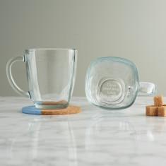 I Love Your Mug Personalised Glass Mug