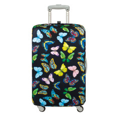 LOQI wild collection luggage cover butterflies
