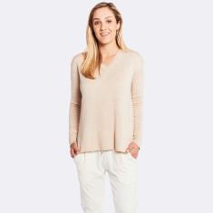 Olive Sweater In Vanilla