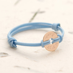 Personalised Mini Open Disc Bracelet for Kids