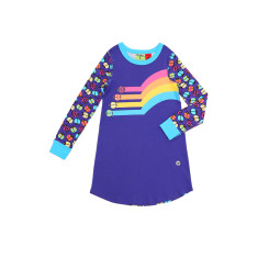 Retro Bug Night Dress