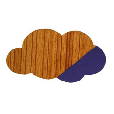 Purple cloud magnet