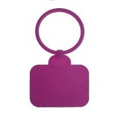 Luggage Tag: Suitcase - Purple