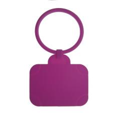 Luggage Tag: Suitcase - Purple