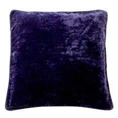 Blackberry cordial silk velvet cushion cover