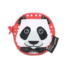 Panda pink kids' purse