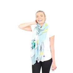 Amie belle silk scarf
