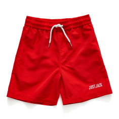 Boys Knockabout shorts in Vintage Red