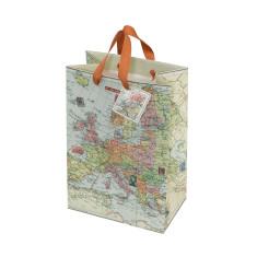 Vintage Map Gift Bag