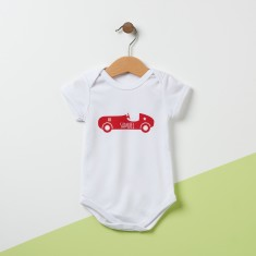 Personalised Car Babysuit