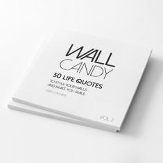Wall Candy Vol.2 Pull Out Wall Art Book