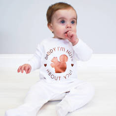 Nuts About You Baby Onesie