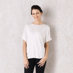 Martina top in white