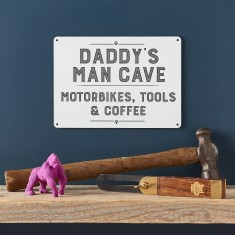 Personalised Daddy's Man Cave Sign