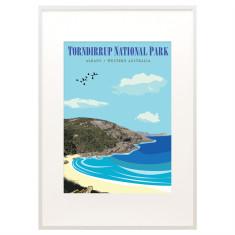 Vintage Albany Torndirrup print