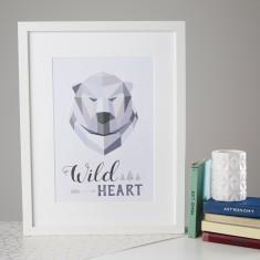 Wild Heart Polar Bear Print