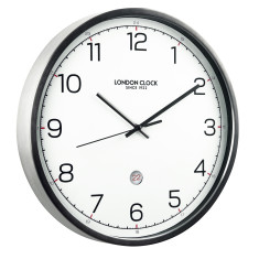 London Clock Company Turbo Silent Sweep Wall Clock with Date