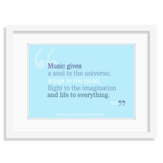 Music teacher thank you print