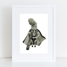 Darth Vader Limited Edition Fine Art Print