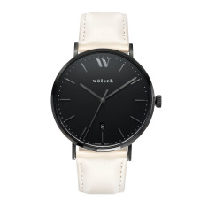 Versa 40 Watch in Black with Sand Band