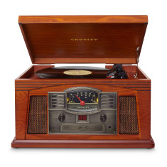 Crosley Lancaster Vinyl Record Turntable - Paprika