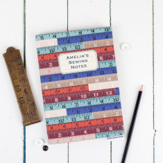 Personalised Sewing Journal