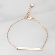 Personalised Perri Bar Bracelet