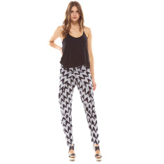 Cetara Pant Black & White