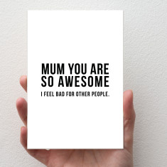 Awesome Mum Card