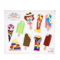 iconic ice creams magnets