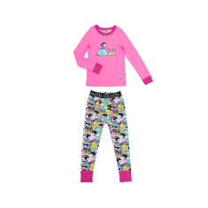 Fairy Snail Drop Crotch Pant Pyjama Set